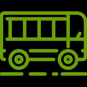 Ven en transporte público